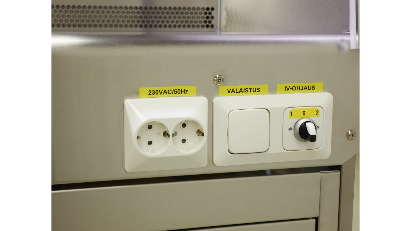 Fume Cupboard electrical components