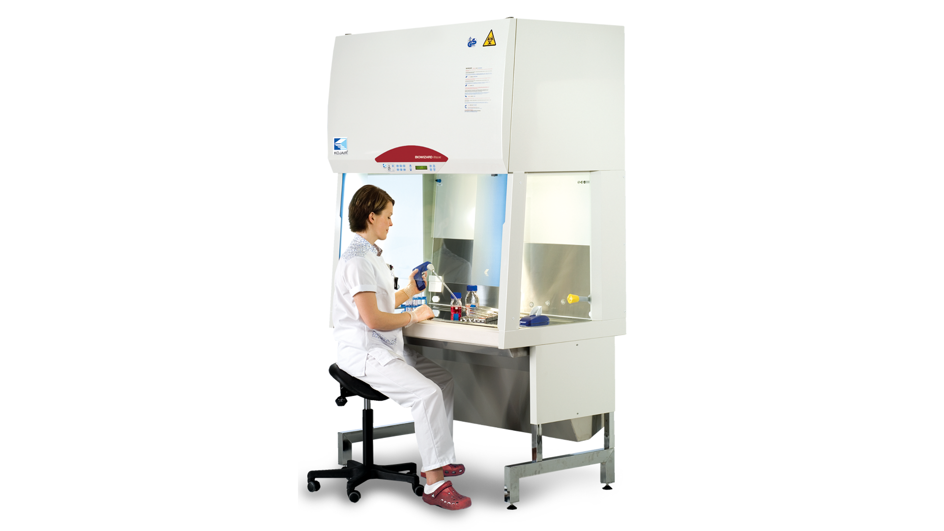 Kojair Biozard Xtra Line biosafety cabinet- micobiological safety cabinet class 2