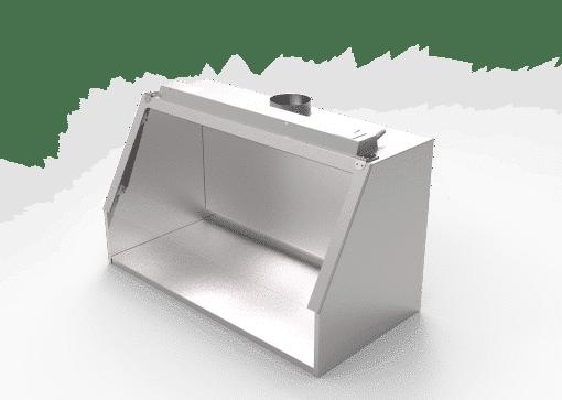 Fume hood stainless steel